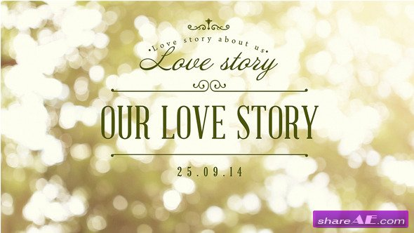 Videohive Our Love Story After Effects Project 187 Free