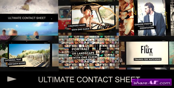 Videohive Ultimate Contact Sheet Slide Show - After Effects Project