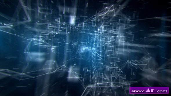 Videohive Futuristic Hi Tech Logo Reveal - After Effects Project