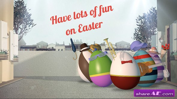 Videohive Easter Greetings - After Effects Project