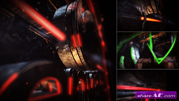 Videohive Cinematic Light Streaks - After Effects Project
