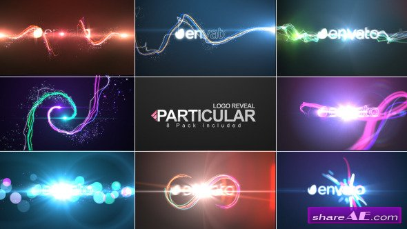 Videohive Particular Logo Reveal Pack - After Effects ...