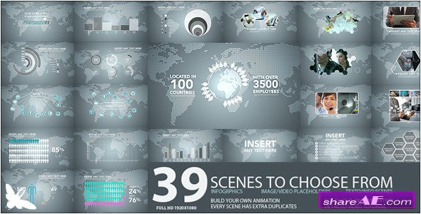 Videohive Corporate Tech Pack - After Effects Project
