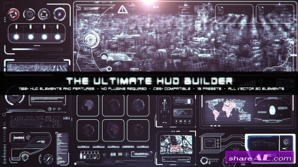 Videohive The Ultimate HUD Builder - After Effects Project