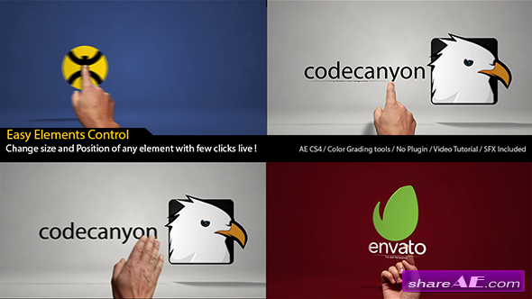 Videohive Classic Hands Logo Reveal Intro - After Effects Project