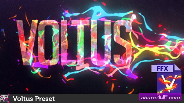 Videohive Voltus Preset - After Effects Preset