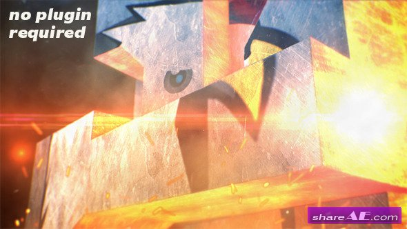 Videohive 3D Industrial Logo - After Effects Project