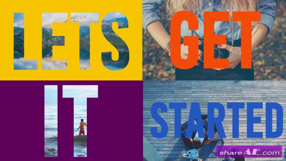 Videohive Colorful Opener - Dynamic Titles - After Effects Project