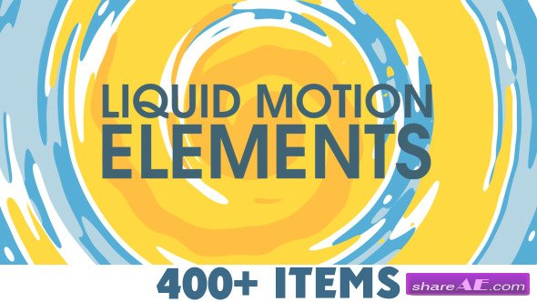 Videohive Liquid Motion Elements » free after effects