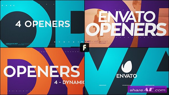 Videohive Dynamic Openers - After Effects Project