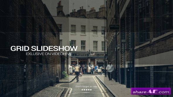 Videohive Grid Slideshow 9707178 - After Effects Project