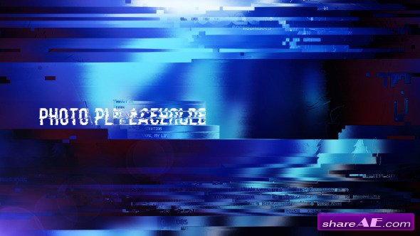 Videohive Glitchy Opener 10958375 - After Effects Project