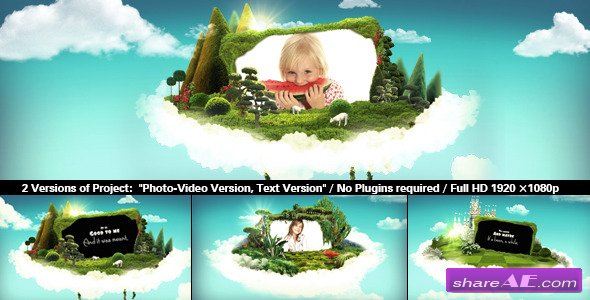 Videohive Wonderworld - After Effects Project