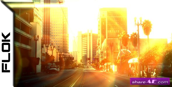 Videohive Light Transitions - Motion Graphic