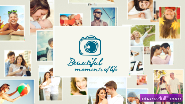 "Videohive SlideShow ""Beautiful Moments of Life"" - After Effects Projects"