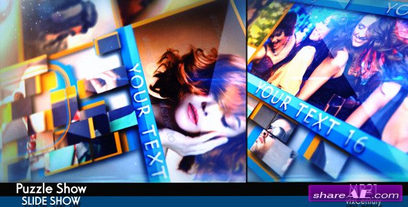 Videohive Puzzle Show - After Effects Project
