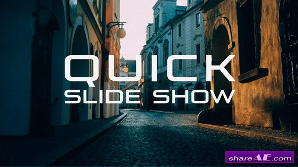 Quick Slide Show - After Effects Projects (Videohive)