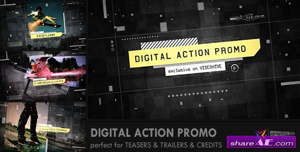 Digital Action Promo - After Effects Projects (Videohive)