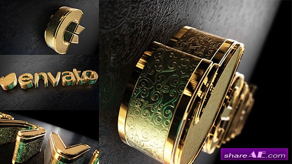Black Gold Logo V2 - After Effects Projects (Videohive)