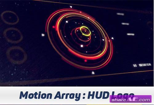 HUD Logo - After Effects Projects (Motion Array)