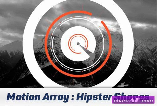 Hipster Shapes Logo - After Effects Projects (Motion Array)