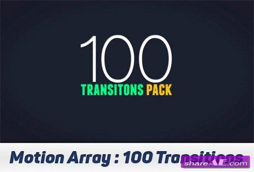 100 Transitions Pack - After Effects Projects (Motion Array)