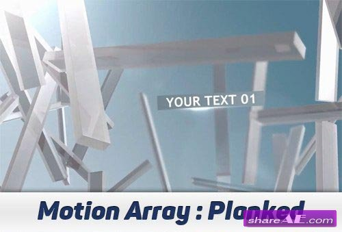 Planked - After Effects Projects (Motion Array)