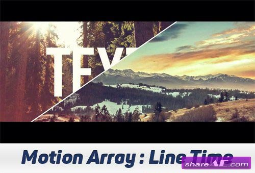 Line Time - After Effects Projects (Motion Array)