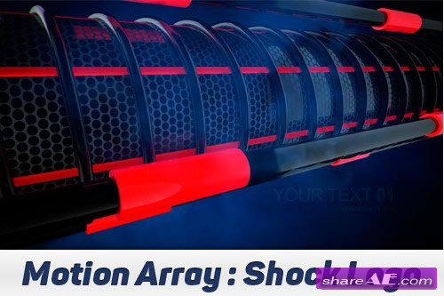 Shock logo - After Effects Projects (Motion Array)