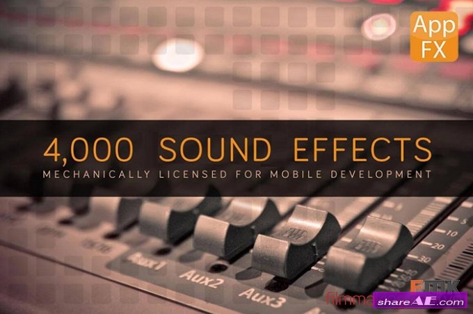 App FX Sound Effects Library With 4,000+ Effects