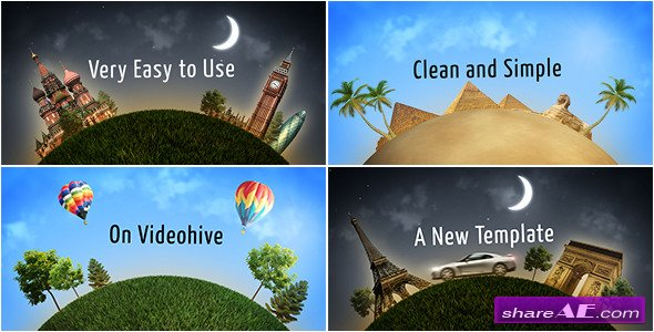 Videohive Happy Journey - After Effects Projects