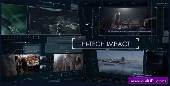 Videohive Hi-Tech Impact - After Effects Projects
