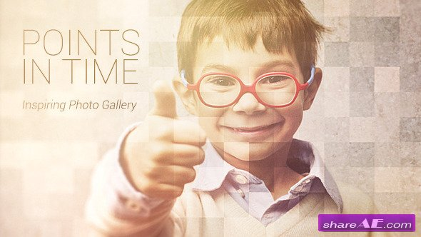 Videohive Points In Time - Inspirational Photo Gallery - After Effects Projects