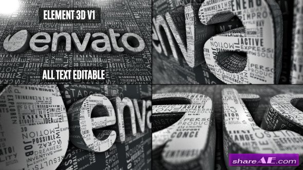 Videohive Creative Words Logo Reveal - After Effects Projects
