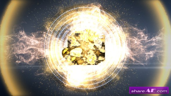 Videohive Big Booom Particles - After Effects Project