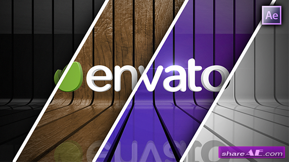 Videohive Ribbon Wall Logo Reveal - After Effects Project