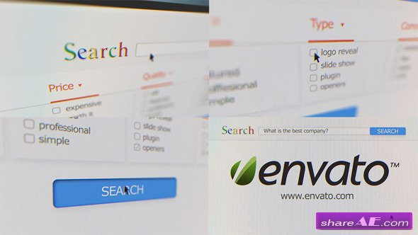 Videohive Internet Search: Promote Your Company - After Effects Project