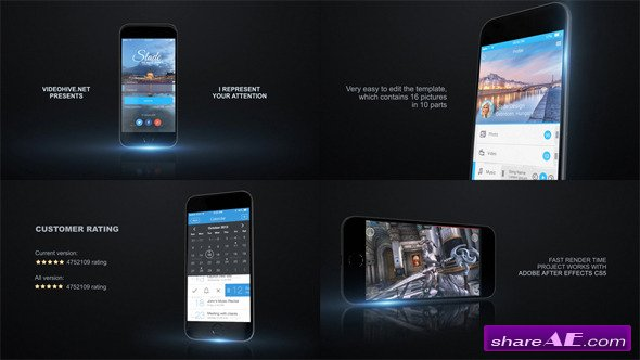 Videohive Mobile App Promo Kit - After Effects Project