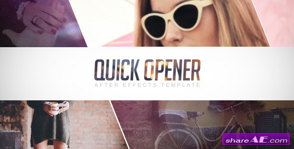 Videohive Quick Opener 11078877 - After Effects Project