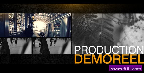 Videohive Production Demo Reel - After Effects Project