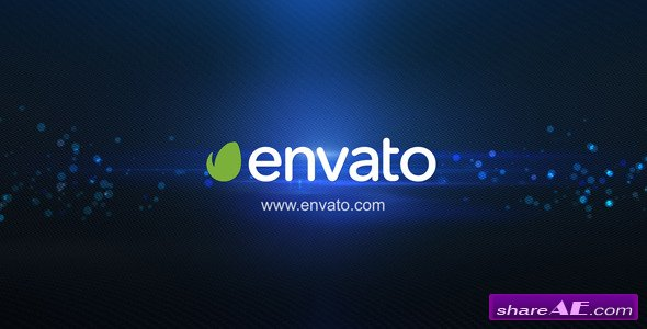 Videohive Logo Intro Elegance Flare Black - After Effects Project
