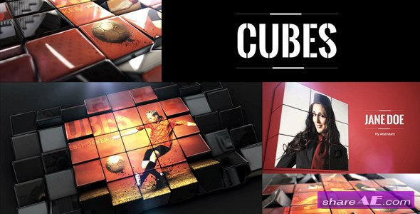 Videohive Cubes 11420742 - After Effects Project