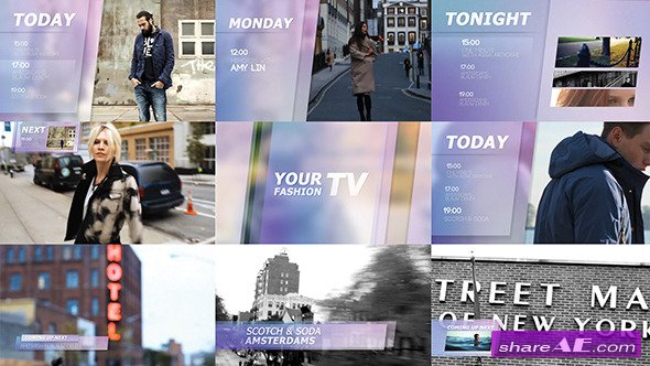 Videohive Fashion Broadcast 2 - After Effects Project