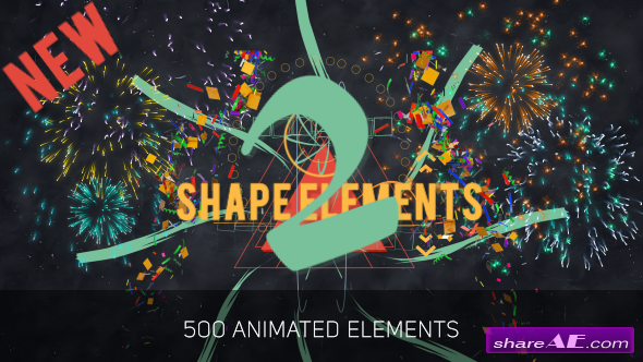 Videohive Big Pack of Elements [Update 5 March 18) » free