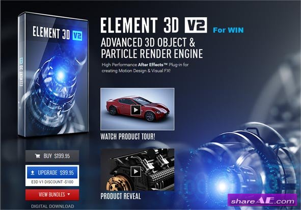 Element 3D v.2.2 (WIN) - Video Copilot