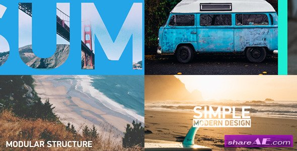 Videohive Sliding Slideshow - After Effects Projects