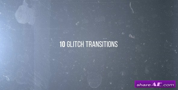 Videohive 10 Glitches - After Effects Projects