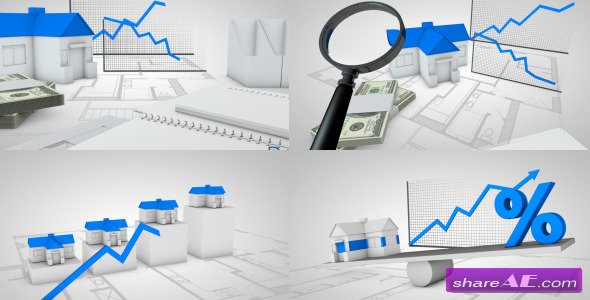 Videohive Real Estate - Motion Graphics