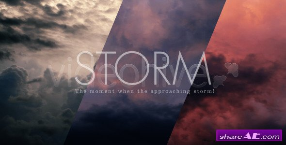 Videohive Storm Clouds Sky - Stock Footage