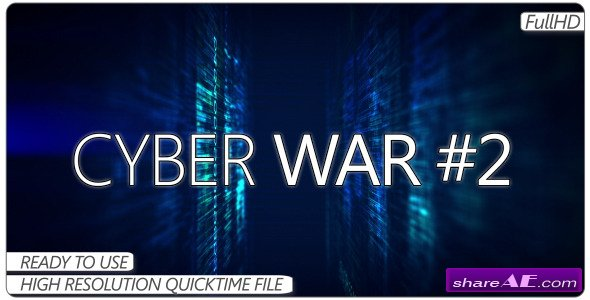 Videohive Cyber War #2 - Motion Graphic